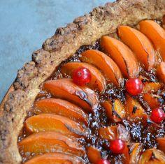 Privé de dessert!!!: Tarte aux abricots et huile d'olive de Marie Chioca