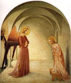 Fra Angelico and the Annunciation: How the Ethereal Event Inspired the Early Renaissance Artist High Renaissance, Renaissance Artists, Future Artist, Fra Angelico, Tile Murals, Spanish Artists, Ancient Romans, Christian Art, Country Life