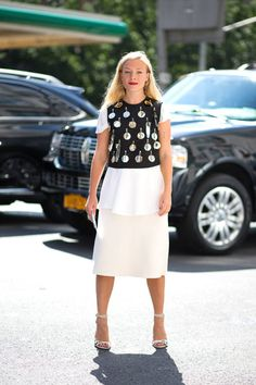 Kate Foley out in NYC. Her and others with best street style spotted during #NYFW today. See more here: