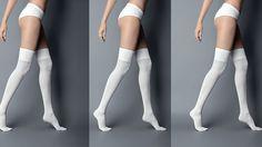 Opaque Over-the-Knee Sock | Znaffle