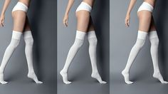 Opaque Over-the-Knee Sock | Znaffle