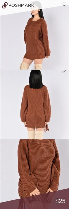 Fashion nova oversized sweater New without tag! Size small/medium Fashion Nova Sweaters