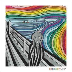 The Rainbow Scream