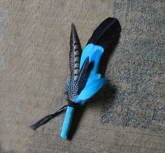 Smudging Feather Fans | Turquoise Feather Smudge Fan by spiritedgifts on Etsy