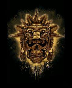Skull Sun God