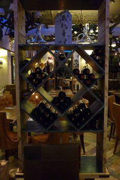 Lots of wine
