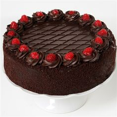 Online Cake Delivery in USA: Send and Order birthday cakes online in USA from the best cake shop and avail midnight & same day delivery. Send cake online to USA. Chocolate Deserts, Chocolate Raspberry Cake, Chocolate Cookies, Chocolate Ganache, Order Birthday Cake, Birthday Cake Delivery, 30th Birthday, Gourmet Cakes, Gourmet Recipes