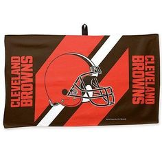 "CLEVELAND BROWNS WAFFLE GOLF TOWEL 14""X24"" BRAND NEW SHIPPING WINCRAFT"