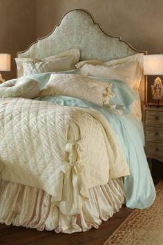 Balloon Bedskirt - Bedding Ensembles, Luxurious Bed Skirts | Soft Surroundings $98