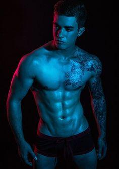 DNA Magazine - Eamon Mulgrew by Lukeography - Part 2 Hot Boys, Dna, Body Art, Batman, Thing 1, Swimming, Magazine, Statue, Superhero