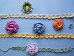 in a different language but i doesnt look too hard to figure out. Crochet Art, Crochet Crafts, Crochet Ideas, Crafts To Make, Crafts For Kids, Arts And Crafts, Flower Tutorial, Diy Tutorial, Crochet Borders
