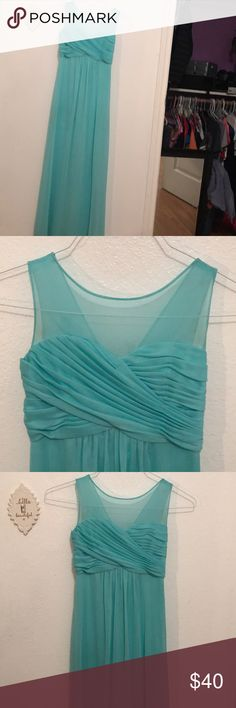 Girls size 10 formal dress Junior bridesmaid dress. Size of 10. Worn once.Fits more like a size 12. David's Bridal Dresses Formal