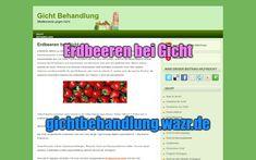 Erdbeeren bei Gicht - Lebensmittel / Ernährung Biotin, Gout Diet, Complete Nutrition, Food Items, Strawberries