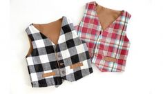 Free Vest Pattern sizes 12 months to 10 years