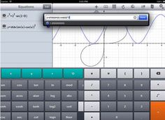 Educational Technology and Mobile Learning: 4 Powerful iPad Graphic Calculator Apps for Math Teachers and Students