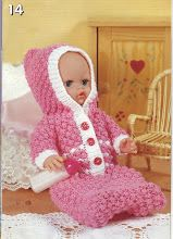 baby dolls clothes knitting pattern dolls sleeping bag with hood growbag baby reborn inch doll DK baby dolls knitting patterns pdf by Minihobo on Etsy Knitting Dolls Clothes, Baby Doll Clothes, Crochet Doll Clothes, Doll Clothes Patterns, Baby Dolls, Baby Knitting Patterns, Knitted Doll Patterns, Knitted Dolls, Baby Patterns