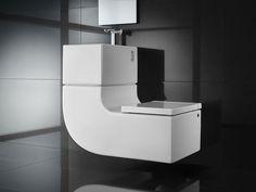 wash basin and toilet combo - sleek