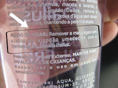 Resenha: Demaquilante Oil Free da Dailus! | Blog da Ana
