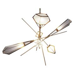Gabriel Scott Harlow Large Chandelier | See more antique and modern Chandeliers and Pendants  at http://www.1stdibs.com/furniture/lighting/chandeliers-pendant-lights