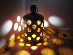 DIY tuto Une lampe bouteille gaz