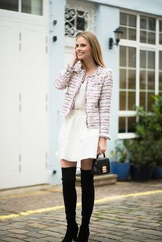 London Mews - The A List - A Blog By Alyssa Campanella Business Outfits, Business Clothes, Alyssa Campanella, Autumn Winter Fashion, Winter Style, Dressed To The Nines, Work Fashion, Tweed Jackets, Style Inspiration