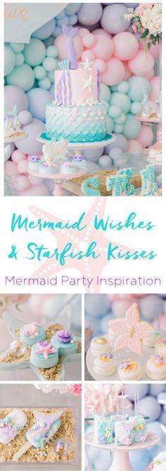 Party Inspiration: Mermaid Wishes & Starfish Kisses - TINSELBOX