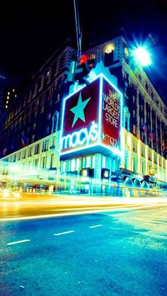 Macy's at midnight