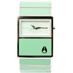 The Chalet Watch, I really like this one but in turquoise, I have to men's version the rotologe in this color