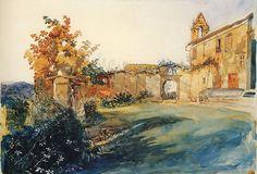 The Garden of Florence - Sir William Russel Flint