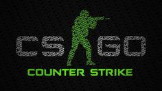 CS:GO Game Logo Wallpaper