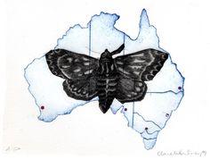Image of Australia by Clare Whitney Art Programs, Printmaking, Claire, Australia, Artists, Models, Handmade, Animals, Inspiration