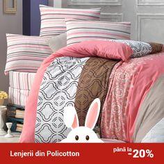 Lenjerie de pat din policotton Elena VKP10 Degrade