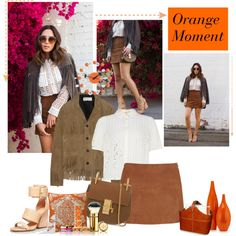 70's boho - Song of style by sarapires on Polyvore featuring Yves Saint Laurent, Jonathan Saunders, Sigerson Morrison, Chloé, DwellStudio, Ellington, Vitra and Tory Burch