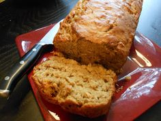 Flavors by Four: Peanut Butter Banana Oatmeal Bread