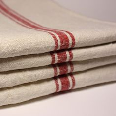 vintage French linen cloth