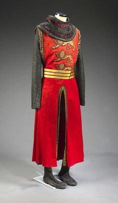 Richard The Lionheart costume from Robbin Hood Prince Of Thieves