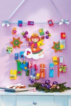 Dekorativ und mit niedlichen Details: Dieser Engel bringt 24 Geschenke!