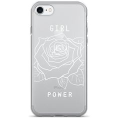 Feminism iPhone 7 Case Feminist iPhone 7 plus Case Girl Power iPhone... (67 SAR) ❤ liked on Polyvore featuring accessories, tech accessories, iphone cover case, iphone sleeve case, apple iphone case and iphone cases