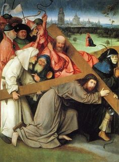 Christ Carrying the Cross, c.1495–1505, Hieronymus Bosch. Palacio Real, Madrid