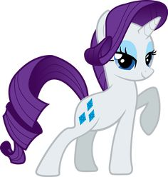 Rarity - My Little Pony My Little Pony Party, Mlp My Little Pony, My Little Pony Friendship, Rarity Pony, Fluttershy, Filly, Imagenes My Little Pony, Little Poni, Telegram Stickers
