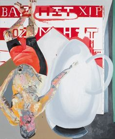 Martin Kippenberger, Untitled (from the series Hand-Painted Pictures), 1992