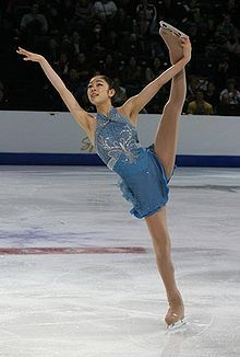 Yuna Kim - really enjoyed watching this skater the most