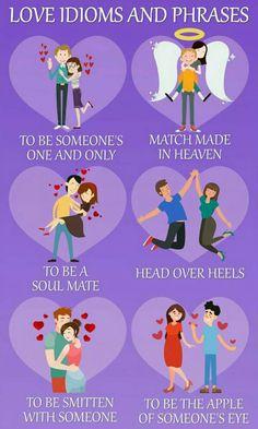 love idioms and phrases, #englishidioms