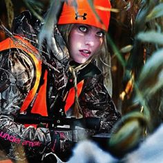 Whitney Isenhart - I'd pay to go hunting with her, or be her best-friend, haha
