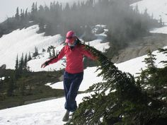 Wearing Barefooters on the snow pack in B. at about ft. last August. Snow, Mountains, Lifestyle, Nature, How To Wear, Naturaleza, Off Grid, Natural, Human Eye