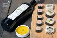 Celebra el Obon japonés con sushi, sashimi y nuestro AOVE  Celebrate the Odon Japanese festival with sushi, sashimi and our EVOO!  http://www.castillodecanena.com/blog/celebra-el-obon-japones-con-sushi-sashimi-y-nuestro-aove/