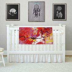 East Urban Home Flame by Li Zamperini Fleece Blanket Size: 80'' L x 60'' W