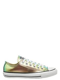 454f8cb65ffbfd CONVERSE All star low-top iridescent leather trainers Closed Toe Summer  Shoes