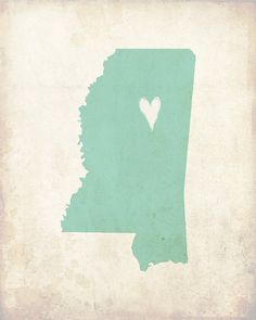 My heart's in Mississippi