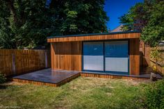 Helix - Garden Room with storage - London Insulated Garden Room, Sips Panels, Building Contractors, Granny Flat, Garden Buildings, Garden Office, Future House, Shed, Home And Garden